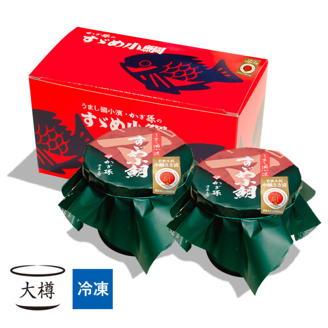 【冷凍】 すずめ小鯛 (小鯛の笹漬け) 大樽2個入 [_210102_]