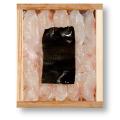 ひらめの昆布締め 井桁木箱入り 1個 【高電圧凍結仕様】 [_212105_]