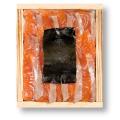 銀鮭の昆布締め 井桁木箱【高電圧凍結仕様】[_212108_]