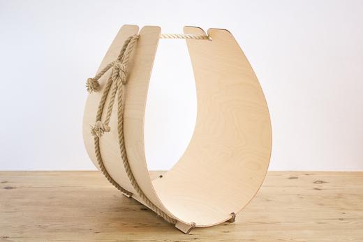 KOLO Design 白樺 ログバスケット