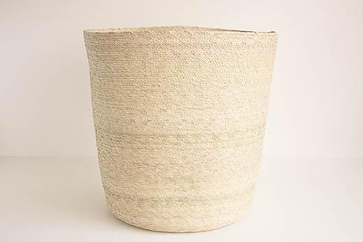 メキシコ 椰子 ランドリーバスケット (L)