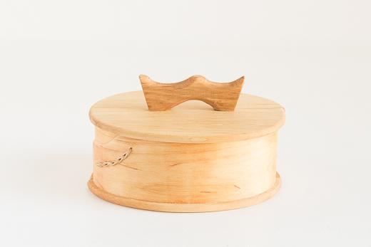 ハンノキのトレイ 蓋つき(M)|スカンジナビアン ヘムスロイド