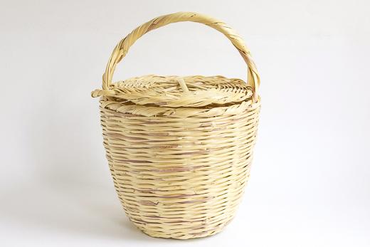 ポルトガル Cane Basket (L)