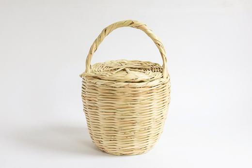 ポルトガル Cane Basket (M)