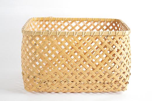 四つ目 収納かご|四国の竹細工