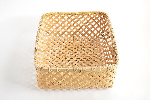 四つ目トレイ|四国の竹細工