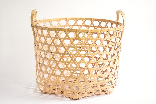 洗濯かご|四国の竹細工