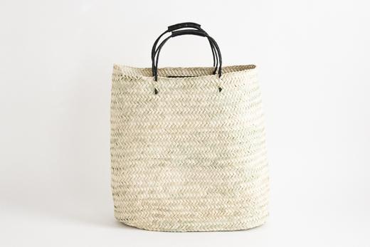 モロッコ yasmina basket (ブラック)