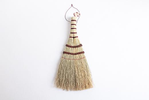 鹿沼箒 とんぼ (赤糸)
