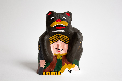 秋田 百目木人形 「マタギ」 (澁谷和之)