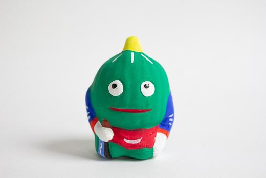 青森 高谷下川原焼土人形 妖怪シリーズ「かぼちゃ」 (MUTO)