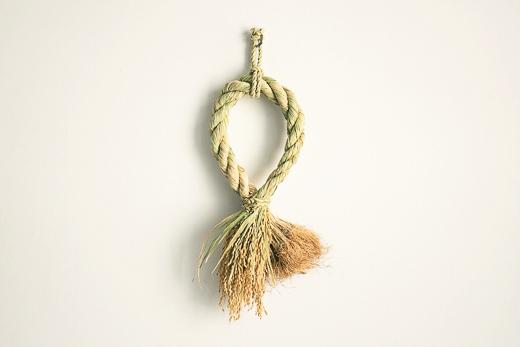 宮崎 わら飾り 根つき穂つき