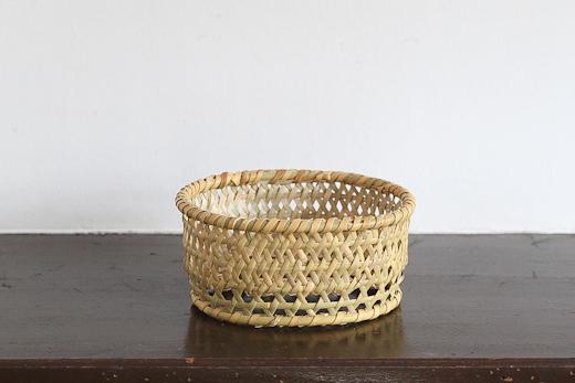 長野 根曲竹の楕円椀かご