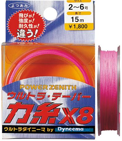 ウルトラテーパー力糸X8