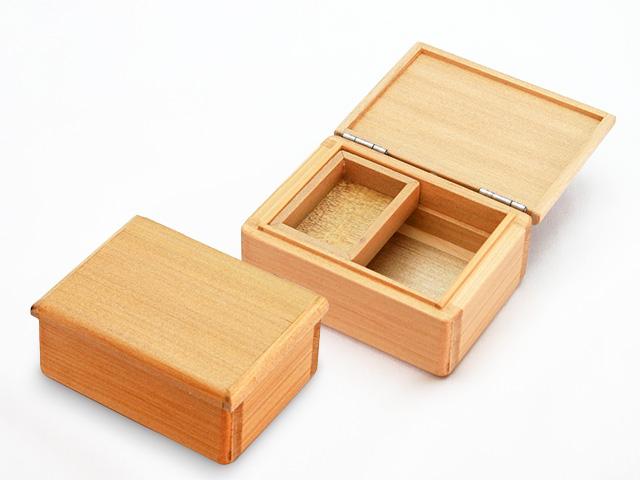 篭定木製1室エサ箱(石粉用皿付)
