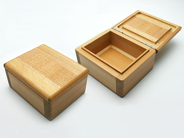 篭定木製1室エサ箱