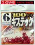 キステック 100本入/赤