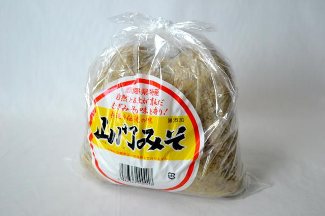 なつかしいあじわい山門味噌1kg【1kg】
