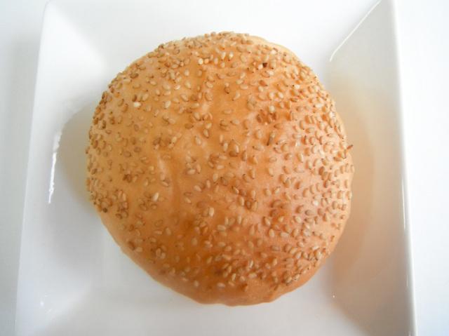 九州産小麦のまんまバーガーパン【0.1kg】