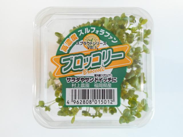 【9月21日24日出荷不可】九州産ブロッコリースプラウト(市場野菜)【0.1kg】