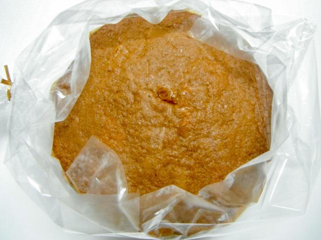 九州産自然栽培小麦と粗糖と地鶏卵で作った手作り用スポンジケーキ台【0.4kg】