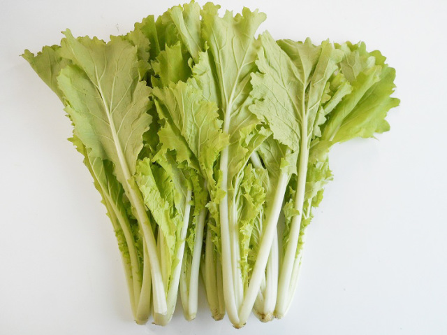 鹿児島県産 減農薬栽培 山東菜(なっぱ) 200g【0.3kg】