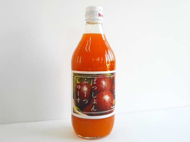前村さんのパッションフルーツジュース(ストレート)500ml【0.9kg】