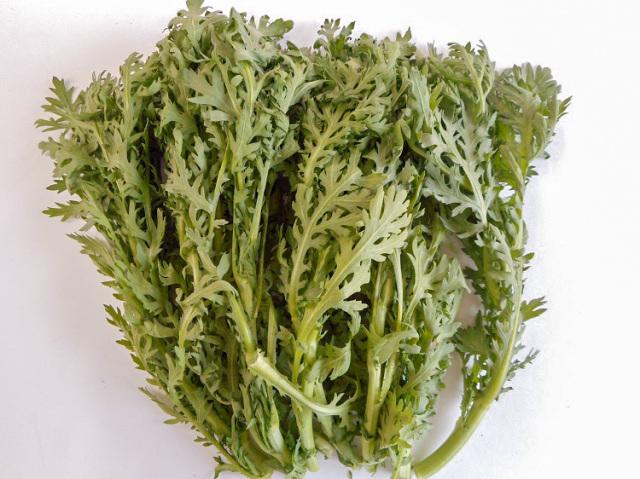九州産春菊(市場野菜)【0.2kg】