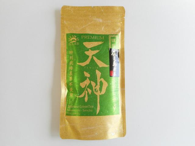 農薬不使用 高級深蒸し茶『天神』100g【0.1kg】