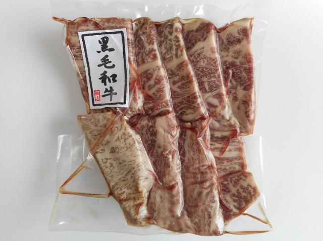 鹿児島産黒毛和牛 焼肉用上ロース肉【0.2kg】