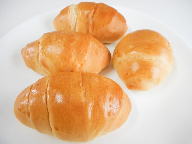 九州産小麦のまんまロールパン(4個入り)【0.3kg】