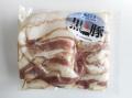 鹿児島産黒豚 焼肉用バラ肉【0.2kg】