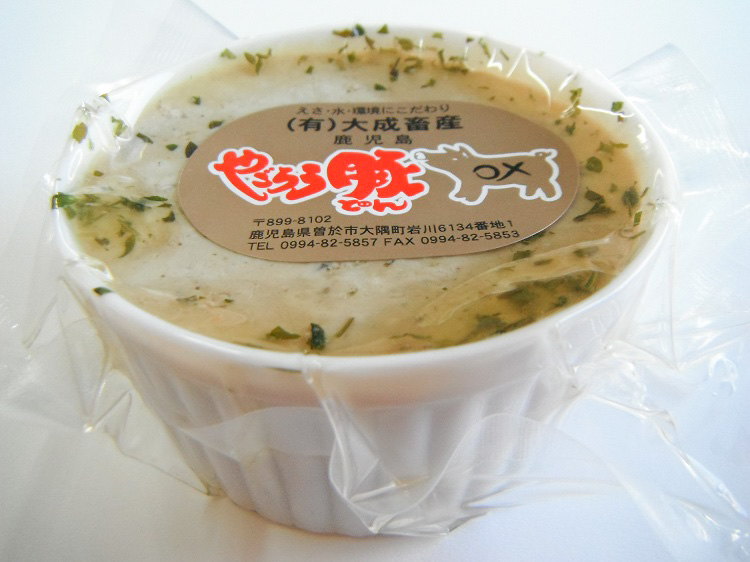 鹿児島やごろう豚のレバーペースト(カップ入りタイプ)【0.2kg】