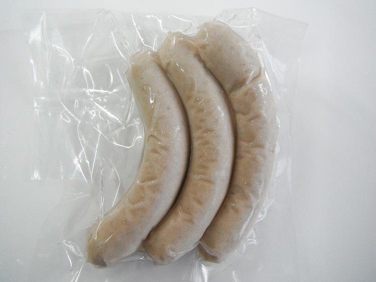 鹿児島やごろう豚の無添加白ウインナー【0.2kg】