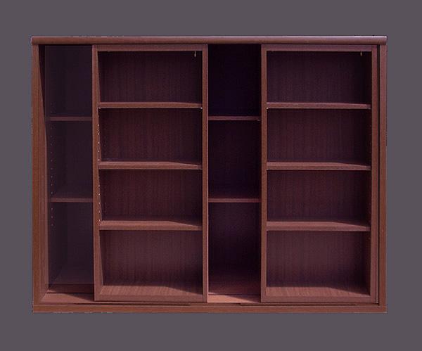 本棚 ・2重スライド(幅120cm×奥行44cm×高さ95cm)