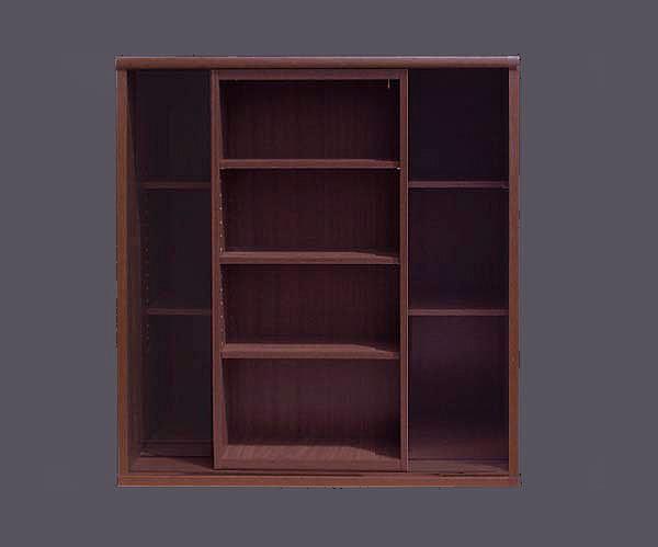 本棚 ・2重スライド(幅90cm×奥行44cm×高さ95cm)