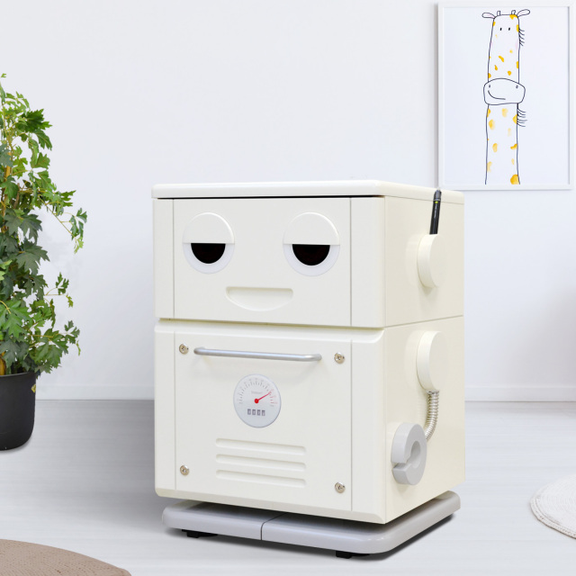 COROBO(コロボ)レトロなロボット型チェスト(幅42cm×奥行41cm×高さ54.9cm)