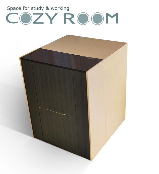 COZYROOM(コージールーム)個室デスク(幅118cm×奥行125cm×高さ150cm)