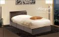 チェスト収納ベッド [ベイド] シングル = ベッド下を収納として有効利用できる3杯の引き出し付きのおしゃれベッド