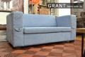ソファー [グラント] 2人掛 = 使い込んだ感じのデニム生地がかっこいいアメリカンスタイルソファ