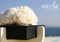 消臭芳香器[ソラ]= 花のデザインが美しく、コンパクトサイズで置く場所を選ばない。消臭も芳香もこれ一台