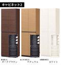 キャビネット2 壁面収納シリーズ[ボルテイル] =シンプルデザインで大容量壁面収納シリーズ[組立品]