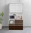 ESCOAT(エスコート)キッチンボード(幅105cm×奥行47cm×高さ209cm)