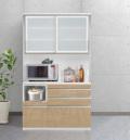 ESCOAT(エスコート)キッチンボード(幅120cm×奥行47cm×高さ209cm)
