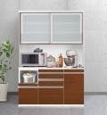 ESCOAT(エスコート)キッチンボード(幅140cm×奥行47cm×高さ209cm)