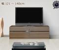 オーダーローボードテレビ台 [グラナー] 幅121〜140cm = テレビにジャストサイズの幅に1cm単位でオーダーできます!全14色
