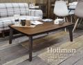 こたつ [ホフマン] 長方形 105×75cm = ミッドセンチュリー風のおしゃれなコタツ付きローテーブル