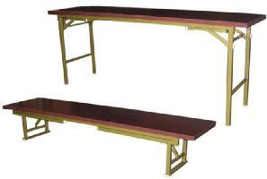 折りたたみ式会議テーブル 180X60兼用