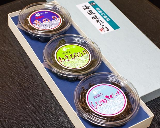 食べくらべ 海道屋佃煮3種セット