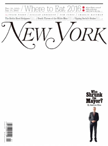 New York Magazine 年間購読